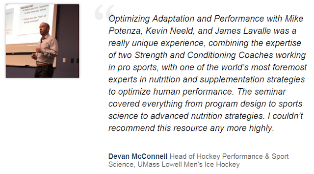 Optimizing Adaptation and Performance, Optimizing Adaptation and Performance program, Optimizing Adaptation and Performance review,