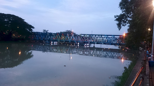 Bridge on River, Tangerang - Image: Author