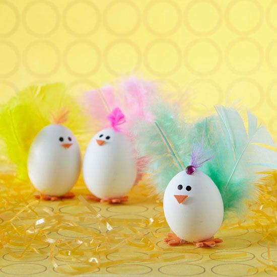 Huevos Decorados Niña Imagui