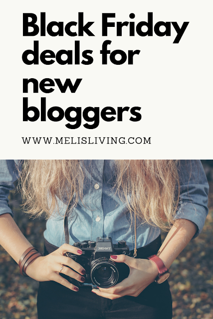 Black friday for Bloggers: Pinterest Graphic
