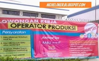 INFO Loker PT Mattel Indonesia (Lowongan SMA/SMK Untuk Wanita) Via Pos/Via Online