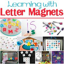 learning with letter magnets