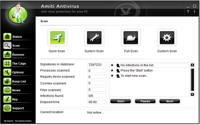 تحميل برنامج مكافحه الفيروسات Amiti Antivirus 24.0.640.0 آخر إصدار