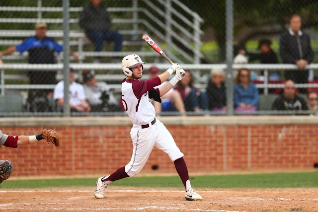 Trinity U baseball player Mason Meredith