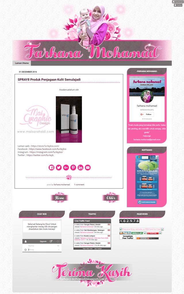 design blog murah, blog comel