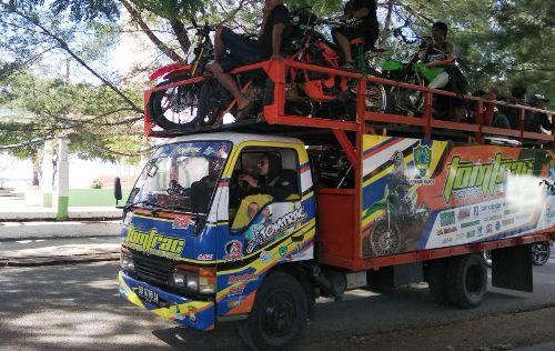 """Peserta Trail Adventure #2 """"Jelajah Alam Tanadoang"""", Mulai Berdatangan"""