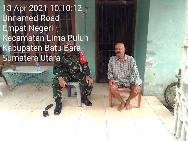 Lewat Komsos, Personel Jajaran Kodim 0208/Asahan Jalin Kebersamaan Dengan Mitra Karib