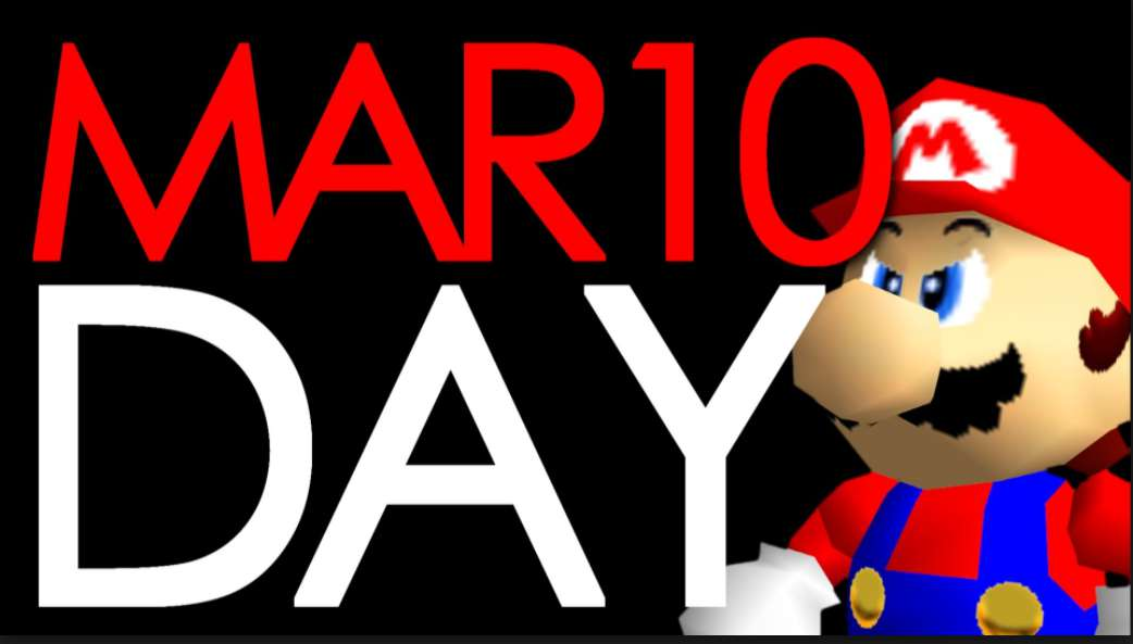 Mario Day Wishes Unique Image