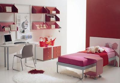 Model Kamar Tidur Anak Remaja Wanita