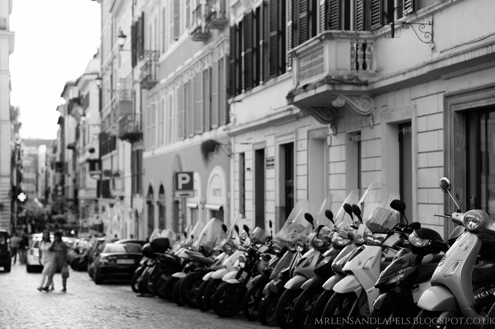 Rome mopeds scooters
