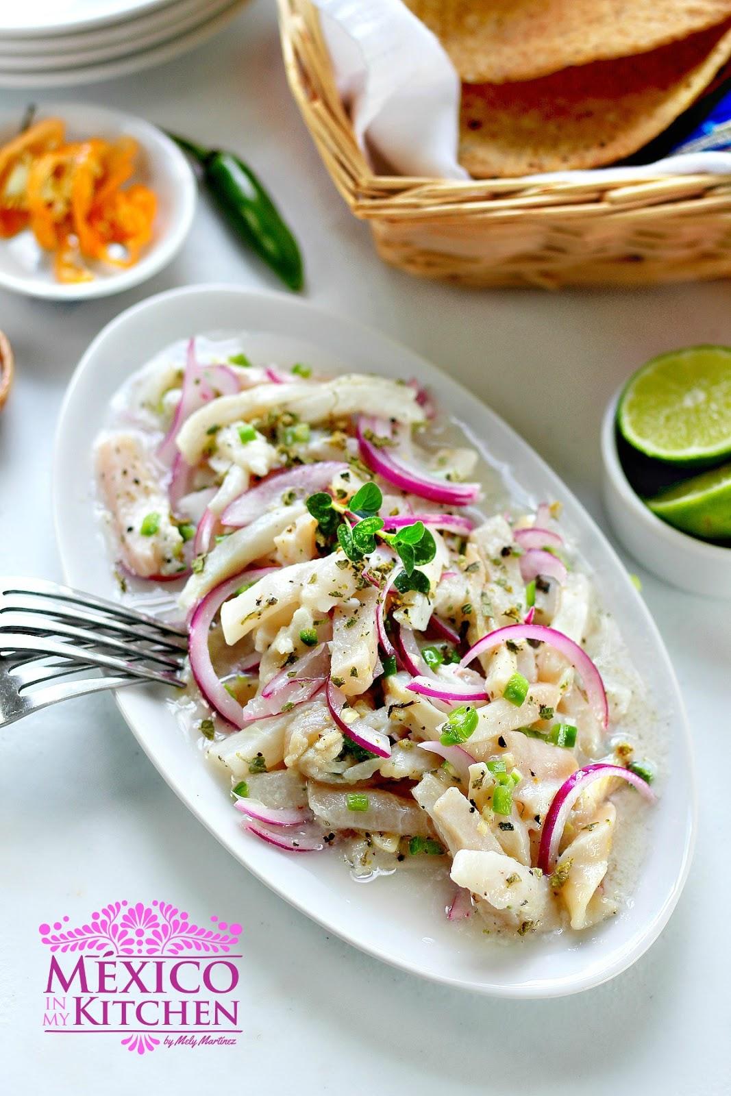 Tiritas De Pescado Zihuatanejo Style Traditional Homestyle Mexican Food Recipes Mexico In My