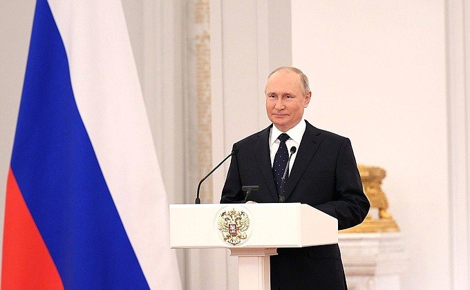 GEOPOLITICAL NEWS: RUSSIA - Putin calls for honest and constructive cooperation with Europe
