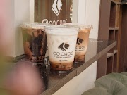 Co.Choc Surabaya REVIEW - BOBA DRINK SERIES x AWKARIN !! 🍷🍹