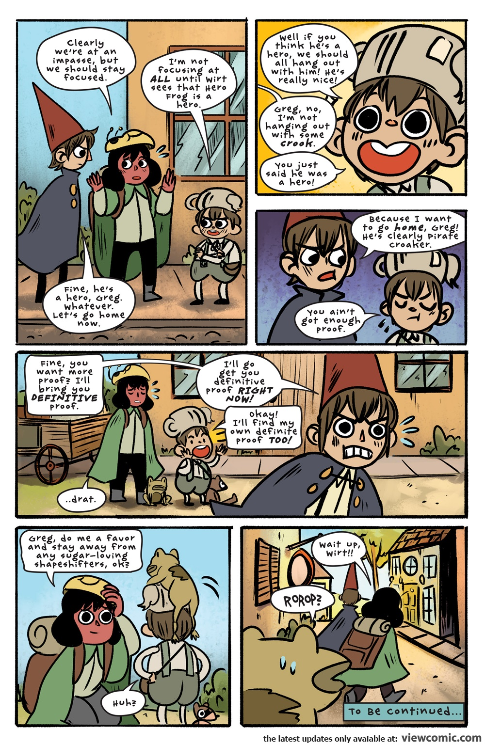 Over The Garden Wall V2 012 2017 Reading Comics Online For Free