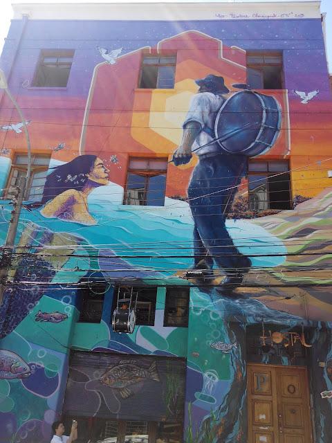 Valparaíso, calle Urriola