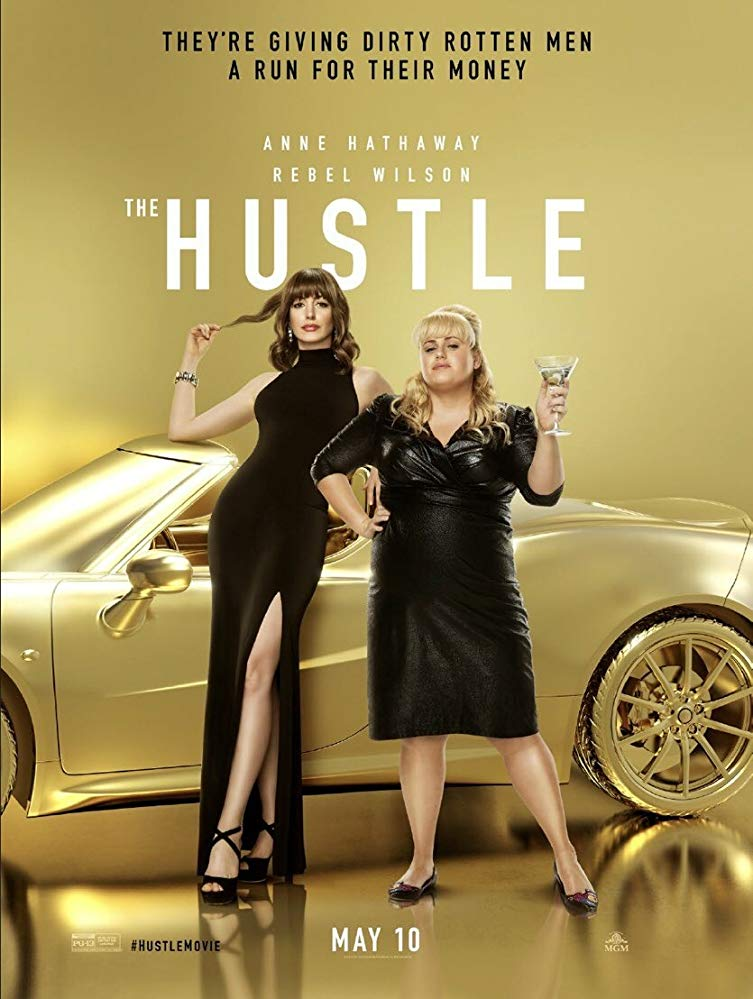The Hustle, Anne Hathaway, Rebel Wilson, Funny, Con Artist, Movie Review by Rawlins, Rawlins GLAM