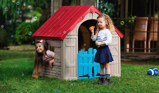 Zabawa w ogrodzie - co najbardziej ucieszy dzieci?