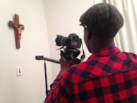 Mona and the Stations of the Cross - Principal Photography - Shooting the Crucifix