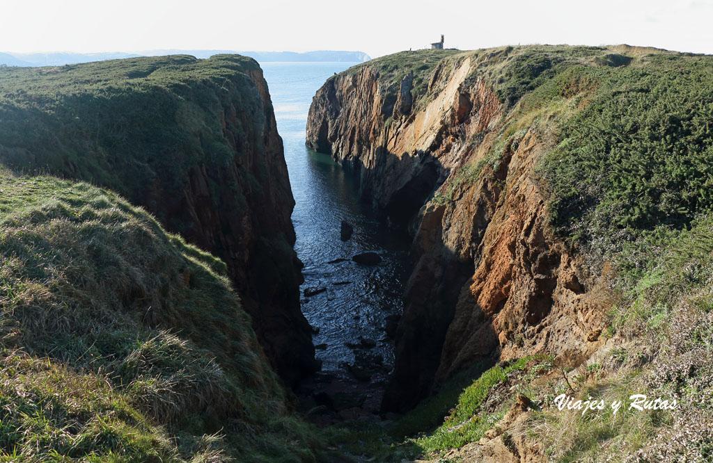 El Arañón - Faro de Avilés - Xagó: Covallonga