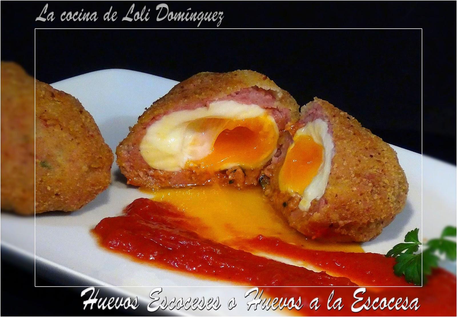 la cocina de loli dom nguez huevos escoceses o huevos a