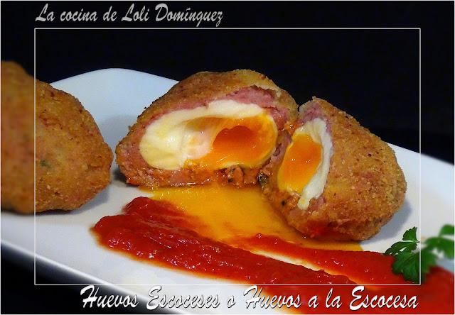 Huevos Escoceses o Huevos a la Escocesa
