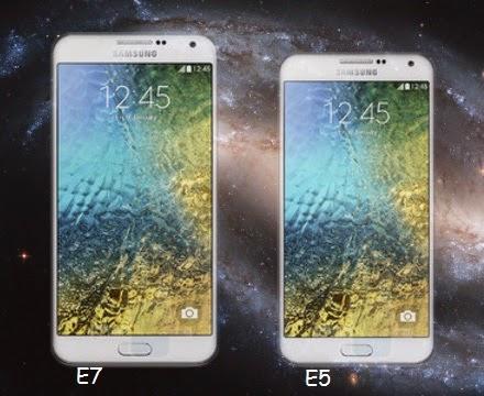 Perbedaan Samsung Galaxy E5 dan E7 - Technogrezz