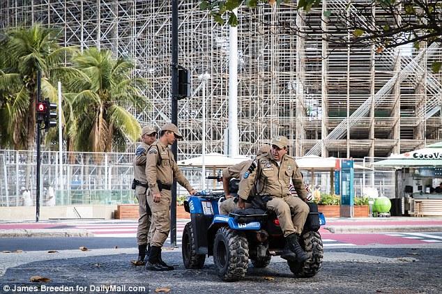 Rio Olympics: Brazil Army
