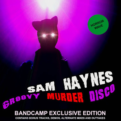 "Sam Haynes ""Groovy Murder Disco"" album cover"