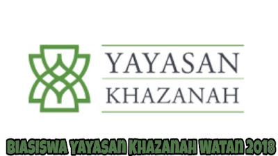 Biasiswa Yayasan Khazanah Watan 2018