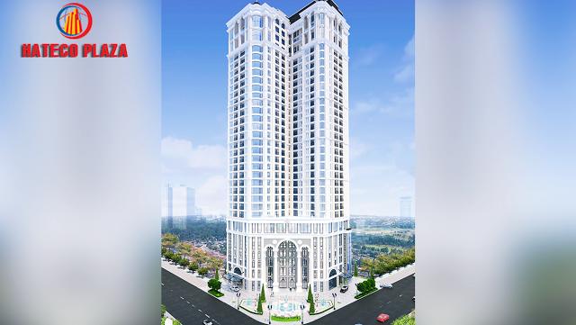 Phối cảnh dự án Hateco Plaza 4A Huỳnh Thúc Kháng