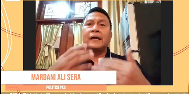 Mardani Ali Sera: Politik Dinasti Di Pilkada 2020 Busuk