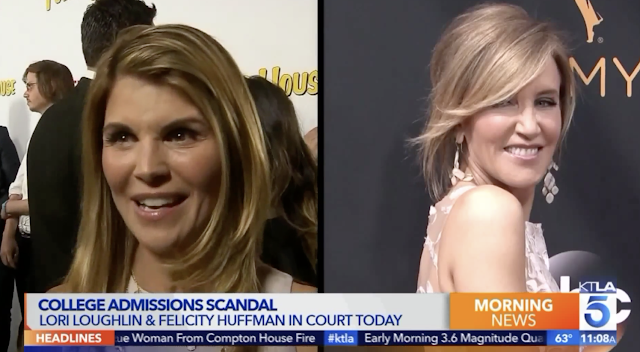 College Admissions Scam: 1st Parent Pleads Guilty; Lori Loughlin, Felicity Huffman Remain Free on Bail