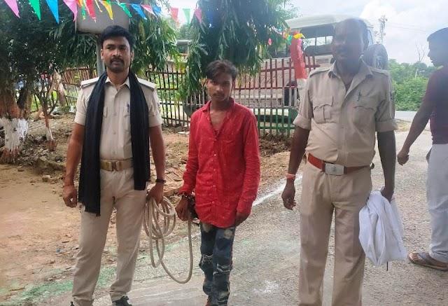 राजनगर से अपहरण कांड के आरोपी को पुलिस ने दबोचा