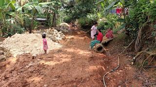 Perkerasan Jalan Dusun Sukasari RT 05 RW 06 Desa Mekarsari
