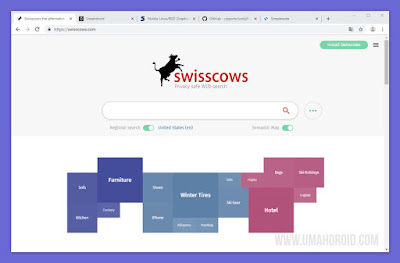 Swisscows Encrypt Mesin Pencari Paling Bebas
