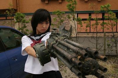 The Machine Girl Minase Yashiro Image 2