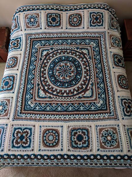 Sophie Loves Lilla Bjorn Loves Polly Plum Winter Blanket