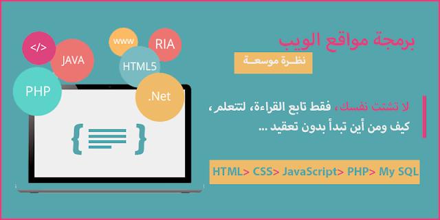 برمجة المواقع، كيف تبدأ، وأهم لغات البرمجة للإنطلاق