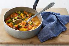 طريقة تحضير الكارى الأحمر التايلندىVegan Thai red curry