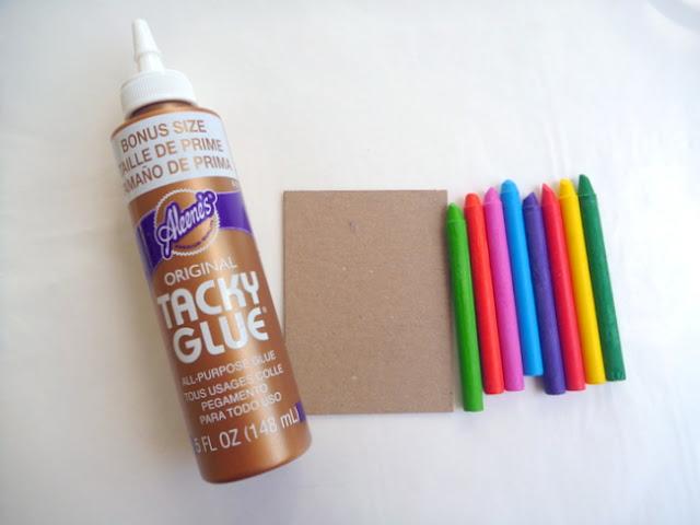 Melting Crayon Surface Prep