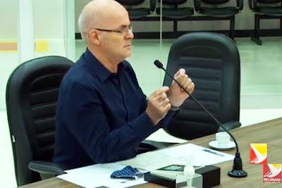 Secretário Paulo Sérgio Carstens. Café com Jornalista