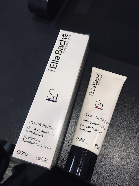 Ella bache review, Hyaluronic Acid Moisturizing Jelly Ella bache, Radiance Charcoal Mask Ella bache,Eye Makeup Remover Ella bache, ella bache blog review, ella bache products