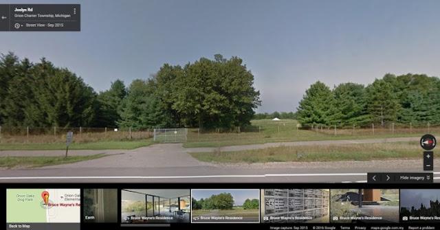 Ya puedes ver la Baticueva con Google Street View