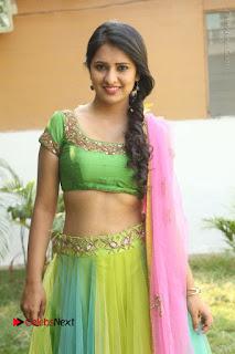 Actress Nikitha Bisht Stills in Lehenga Choli at Pochampally Ikat Art Mela Launch  0143.JPG