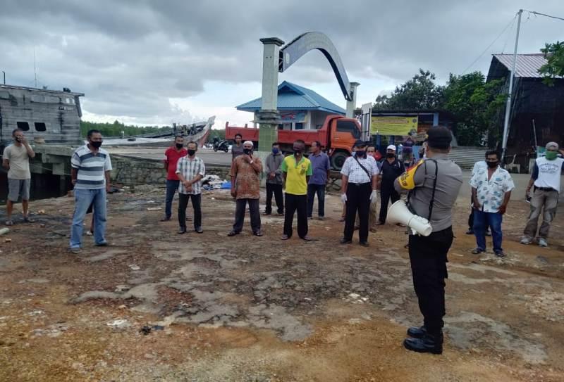 Polres Tanjungpinang Tuntaskan Penyaluran 20 Ton Beras Bantuan Mabes Polri