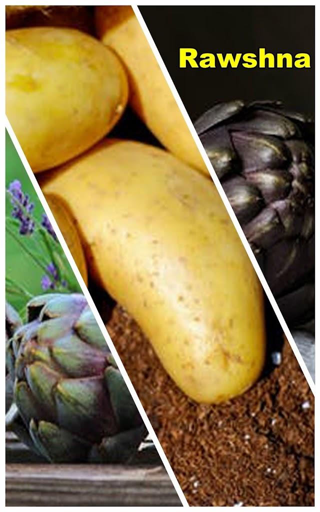 طريقة تحضير شوربة البطاطس والارض شوكي