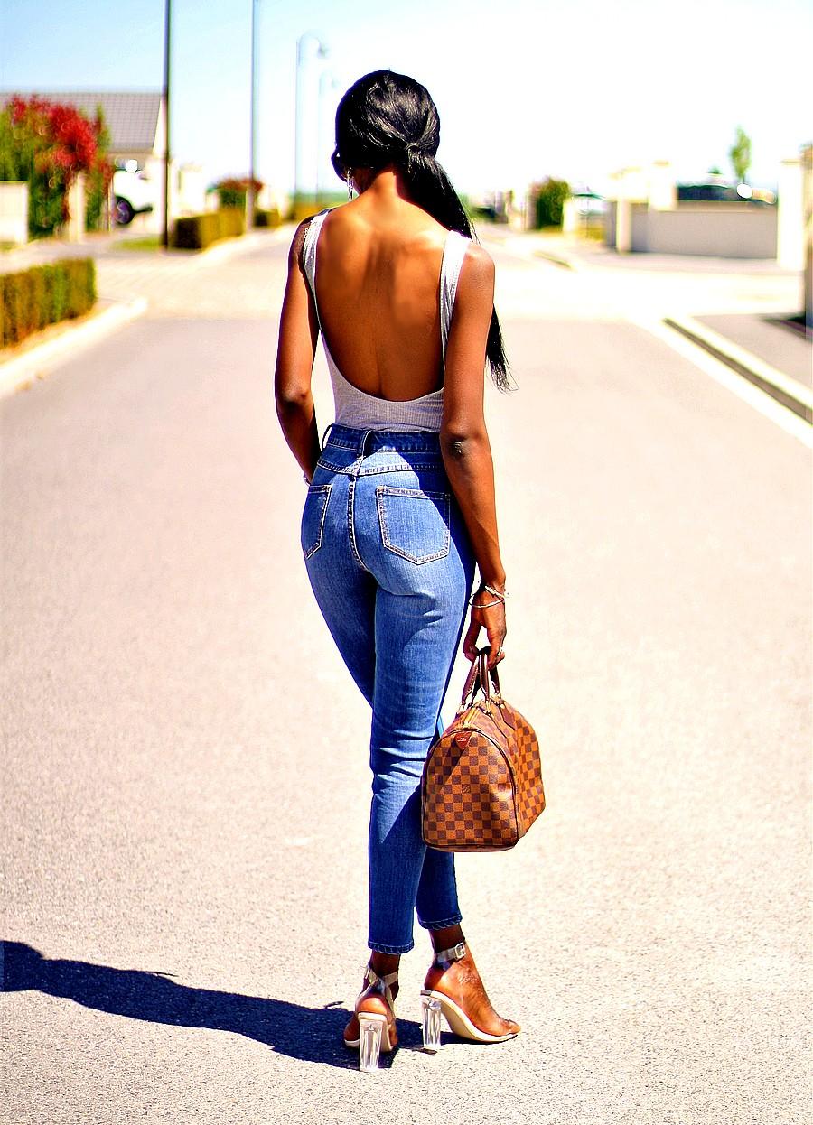sexy-low-back-bodysuit-high-waist-jeans-missguided-persex-heels-speedy-30-louis-vuitton