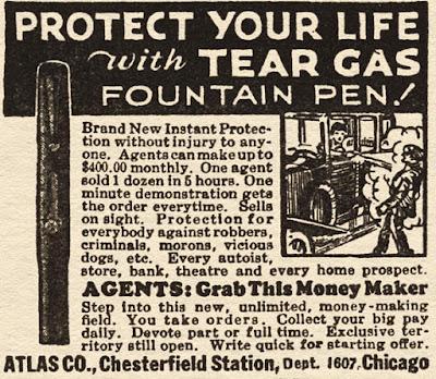 Tear Gas Fountain Pen