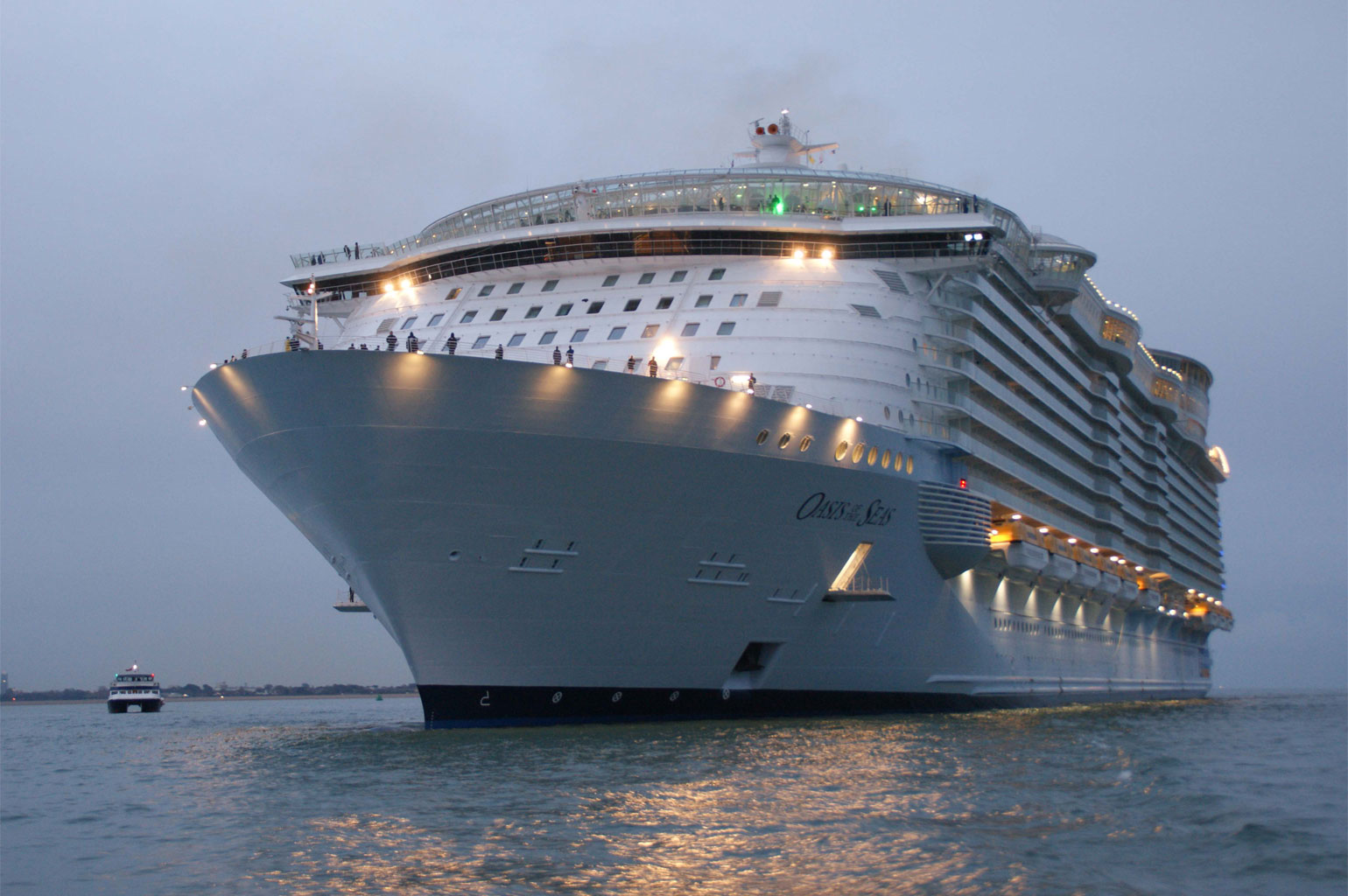 The world largest cruise ship pakistan affairs for Best cruise in world
