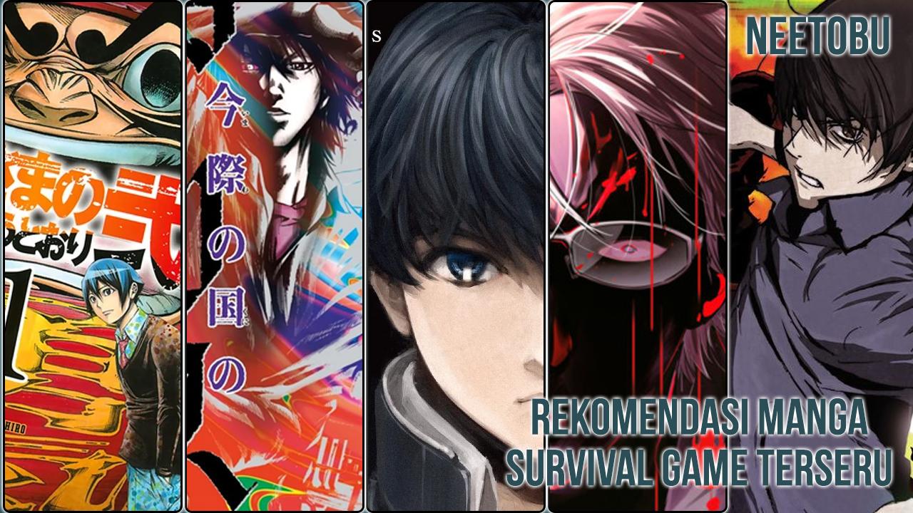 Gambar rekomendasi manga bertemakan survival game